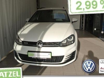 gebraucht VW Golf VII Variant 2.0 TDI GTD DSG NAVI
