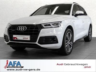 gebraucht Audi Q5 2,0 TDI Sport qu. S tronic S-Line,Luft,AHK,Opt.Schwarz,Virt.CP