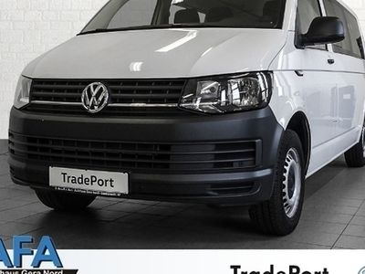 gebraucht VW Transporter Transp.Kombi 2,0TDI lang DSG Klima,Navi,AHK