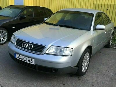 gebraucht Audi A6 2.4 mit gas erst Text lesen