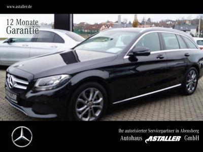 gebraucht Mercedes C220 T d Avantgarde+Spur+Navi+Kam+Totw+Sitzkomf