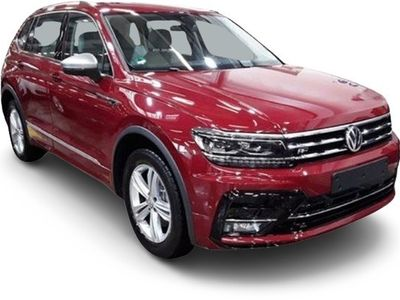 gebraucht VW Tiguan Allspace Tiguan2.0 TSI DSG 4M R-Line 7-Sitze ActiveInfo AHK