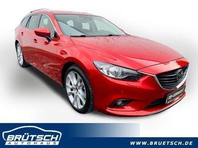gebraucht Mazda 6 Kombi 2.2 CD Sports-Line AUTOMATIK / ACC / SCHIEBEDACH