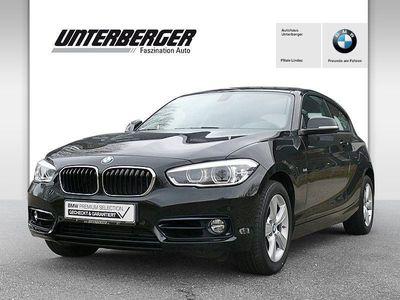 gebraucht BMW 118 d 3-Türer Sport Line