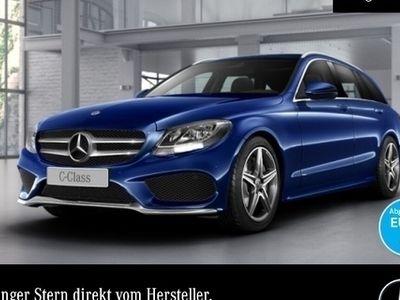 gebraucht Mercedes C400 T 4M AMG AHK PTS 9G Sitzh Sitzkomfort Temp
