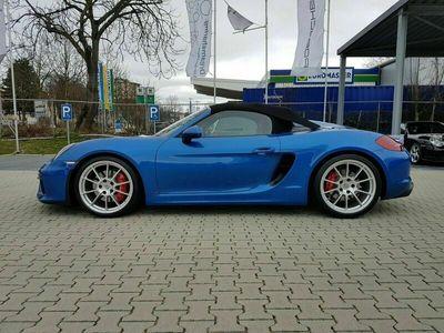 gebraucht Porsche Boxster Spyder 1 Hand Unfallfrei Schalensitze