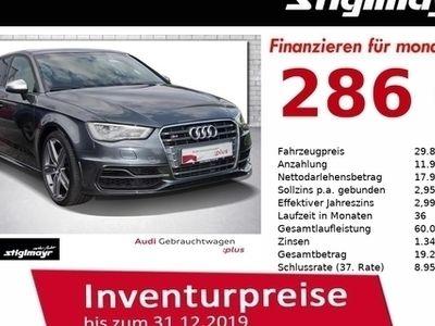 gebraucht Audi S3 Sportback 2.0 TFSI quattro S-tronic LED+Magnetic-R