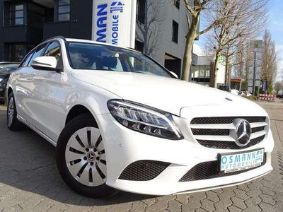 gebraucht Mercedes C220 dT LED 9G-Tronic Navigation Distronic