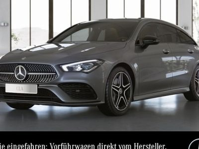 gebraucht Mercedes CLA200 Shooting Brake AMG LED Night Kamera Spurhalt-Ass PTS