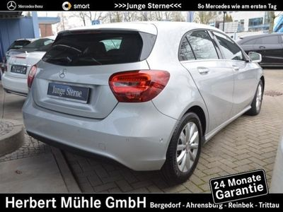 gebraucht Mercedes A180 Style+Navi+Parkass.+Teilleder+P.-Lenkung