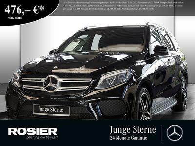 gebraucht Mercedes GLE500 AMG Line 4Matic Abstandstemp. LED Pano N