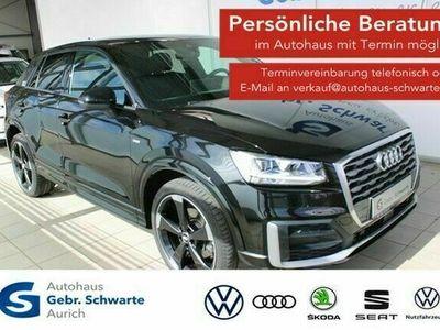 "gebraucht Audi Q2 1.6 TDI S line LED+NAVI+B&O+LM19""+SHZG+ACC"