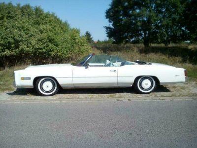 gebraucht Cadillac Eldorado Convertible Bicentennial... als Cabrio/Roadster in Magdeburg