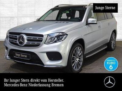 gebraucht Mercedes GLS500 4M AMG Fahrass Airmat Stdhzg Harman COMAND