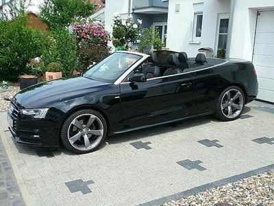 gebraucht Audi A5 Cabriolet 2.0 TDI DPF BM,AHK,Xenon,Navi,S-LINE,