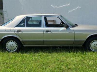 używany Mercedes 420 Limousine W126 2.Hand Classic Data Note 2