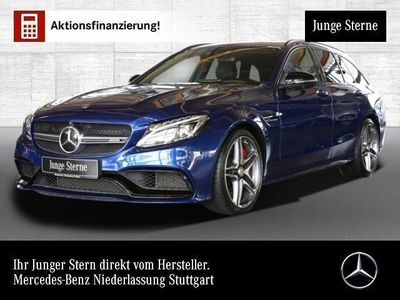 gebraucht Mercedes C63 AMG AMG S T Driversp PerfAbgas Pano ILS Fahrass