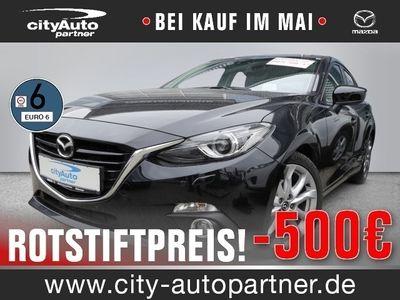 gebraucht Mazda 3 2.0 SKYACTIV-G 165 BM Sports-Line Euro 6 Klima