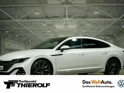 gebraucht VW Arteon R-Line 2,0 TDI 4MOTION NAVI AHK Head-up P