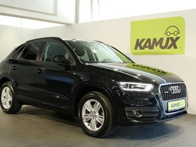 gebraucht Audi Q3 2.0 TDI quattro S-tronic +Xenon-Plus +AHK +PDC +Erste Hand