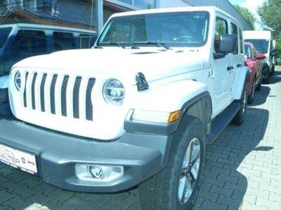 gebraucht Jeep Wrangler Unlimited Sahara JL 2.0T-GDI 4x4 AT8