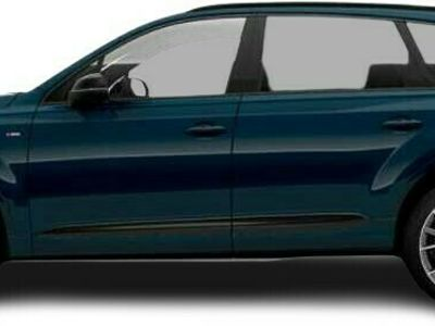 gebraucht Audi Q7 Q750 TDI quattro S line LED AHK Sitzheizung