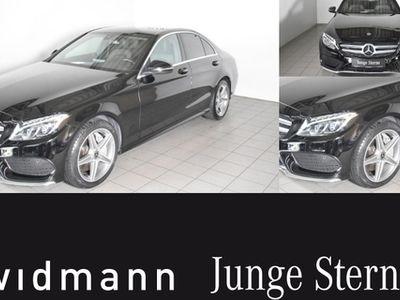 gebraucht Mercedes C400 4M *AMG*LED*Park-Paket*Navi*Kamera*Sitzhzg