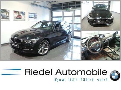 gebraucht BMW 318 d Touring Sport Line Aut Navi LED PDC usw.
