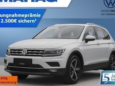 gebraucht VW Tiguan Highline Navi Standheizung LED 18Zoll AHK