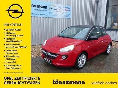 gebraucht Opel Adam 1.4 Open Air, Parkpilot hi, Freispr., Faltdach, Al