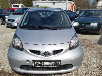 gebraucht Toyota Aygo Klima 1.Hand 5-Türig Scheckheft Euro4