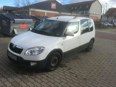 gebraucht Skoda Roomster Scout 105 PS