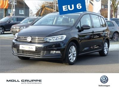 second-hand VW Touran 2.0 TDI DSG Comfortline NAVI LED ALU ACC