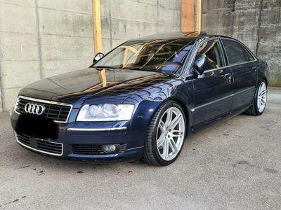 gebraucht Audi A8L 4.2 Scheckheft gepflegt, LPG