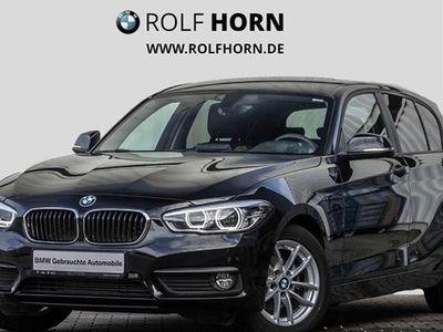 gebraucht BMW 116 d Advantage Aut. Navi LED Sitzhzg PDC EURO 6
