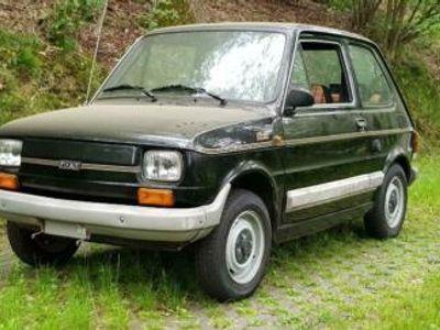 "used Fiat 126 Bambino 650 - Sondermodell ""Black"" - 1.Hand"