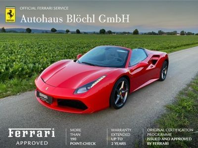gebraucht Ferrari 488 Spider *Lift*LED*JBL*Racing-Sitze*NW Garantie