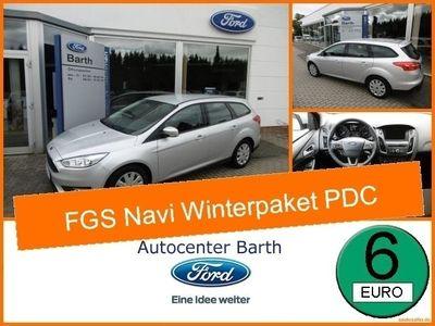 gebraucht Ford Focus 1.5 TDCi Business FGS Klima Navi Winterp.