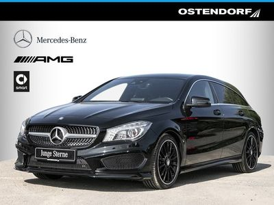 gebraucht Mercedes CLA250 4M SB Spur-Paket AMG Comand ILS