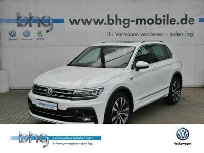 gebraucht VW Tiguan Highline 2.0 TSI DSG R-Line Winterpaket Climatronic