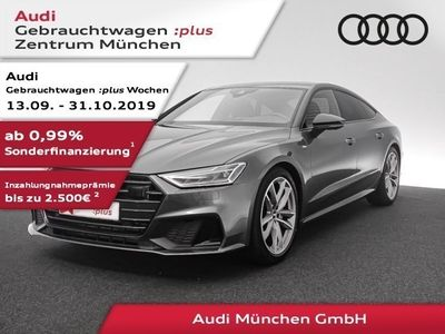 "gebraucht Audi A7 Sportback 50 TDI qu. 2x S line 20""Zoll/AHK/B&O/ACC"