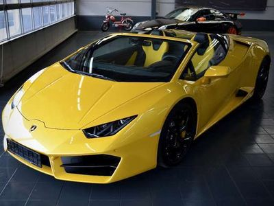 gebraucht Lamborghini Huracán Spyder - LIFT/KAM+SENS/NAVI *1.000 KM !*