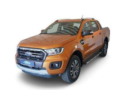 gebraucht Ford Ranger DoKa 4x4 Wildtrak 2.0 TDCi Automatik ACC AHK Navi