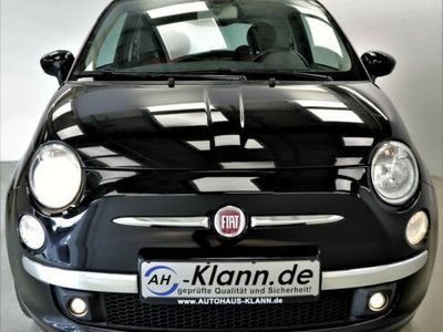gebraucht Fiat 500 1.3 JTD 75 PS Sport klima Panorama Leder