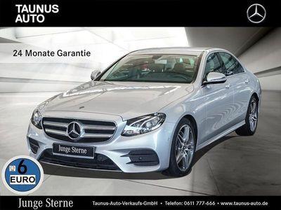 gebraucht Mercedes E220 4M-AMG-NAVI-LED-AHK-STANDHZG-KAMERA