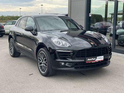 """gebraucht Porsche Macan NAVI SHZ BOSE 20"""" LEDERPAKET KAMERA"""