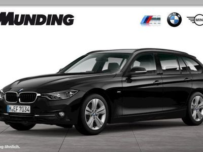 gebraucht BMW 320 d Touring EffDyn Edition Sport Line