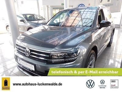 "gebraucht VW Tiguan Allspace ""IQ.DRIVE"" 4MOTION 2,0 l TDI SCR 140 kW (190 PS) 7-Gang-Doppelkupplungsgetriebe DSG"