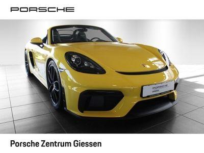 gebraucht Porsche 718 Boxster Spyder/Connect*/ohne Zulassung!