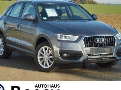 gebraucht Audi Q3 2.0 TDI DPF AHK PDC Tempomat Sitzheiz. Xenon